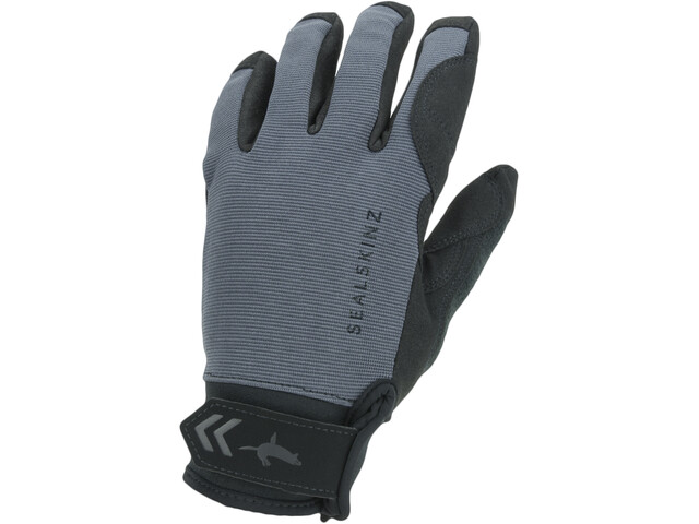 Sealskinz Waterproof All Weather Guantes, gris/negro